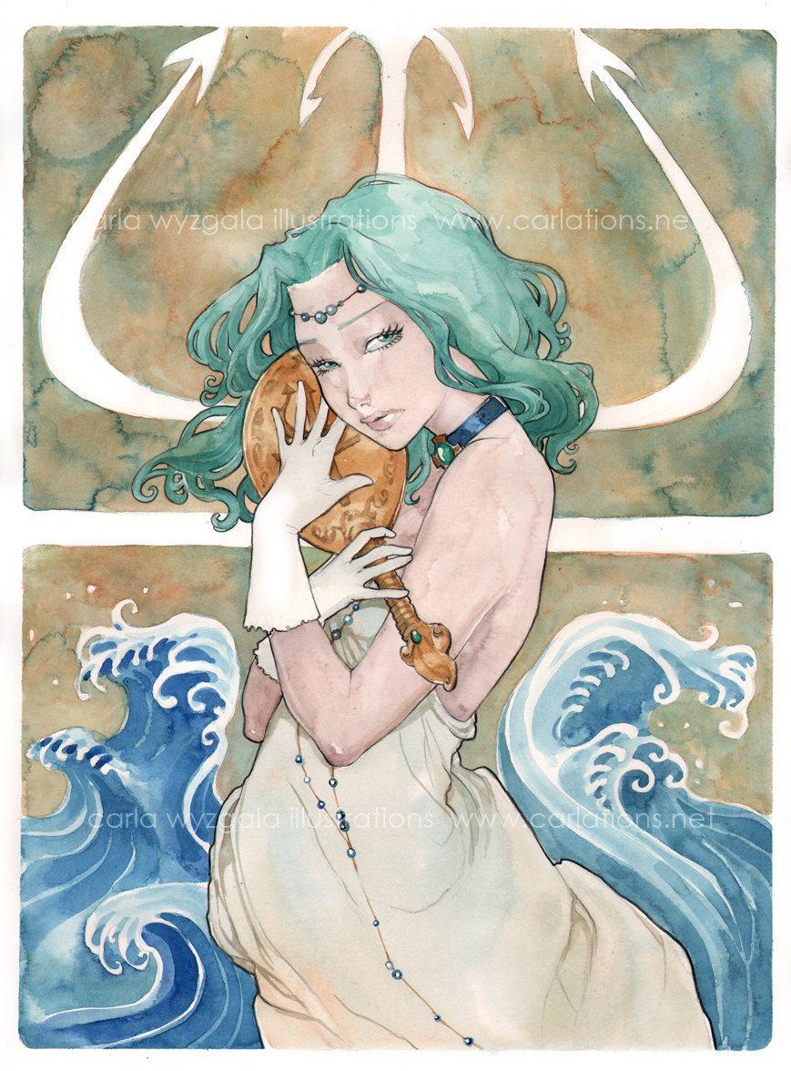 Sailor Moon Art Prints. $18.00, via Etsy.