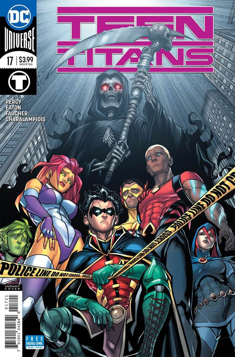 DC COMICS//2017 KHOI PHAM ART /& COVER TEEN TITANS #9 REBIRTH