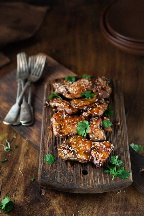Sticky asian style chicken thighs recipe foodienarium asian sticky asian style chicken thighs recipe foodienarium forumfinder Choice Image
