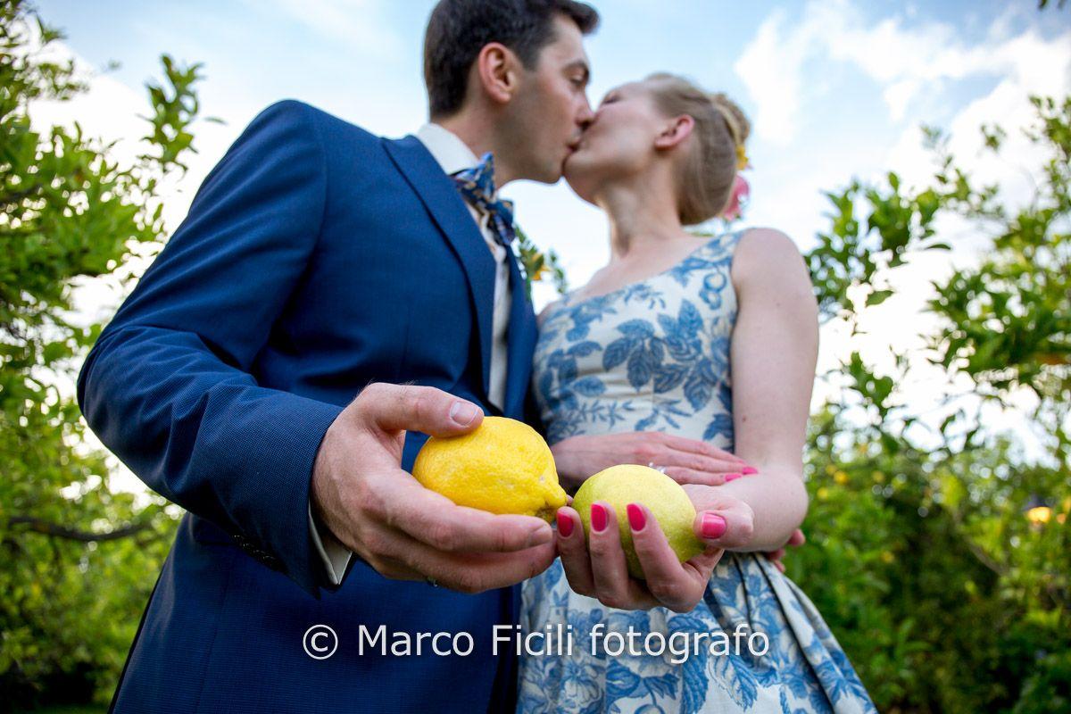 Sicilian wedding amongst the lemon groves