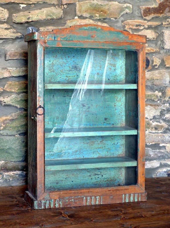 Vintage Distressed Wall Cabinet By OrmstonSaintUK On Etsy