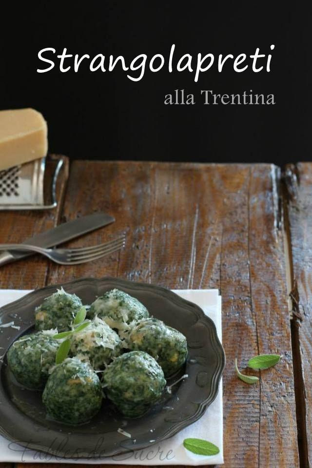 Strangolapreti alla trentina ricette in italiano for Ricette italiane primi piatti