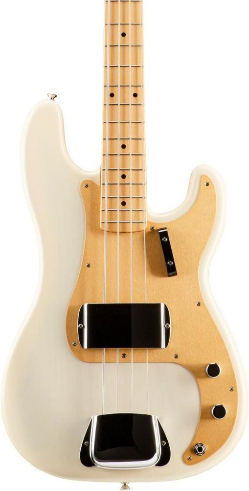 Fender American Vintage 58 Precision Bass White Blonde Maple Fingerboard Fender