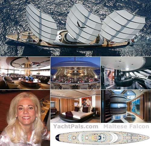 Inside The Maltese Falcon Barcos Veleros Velas