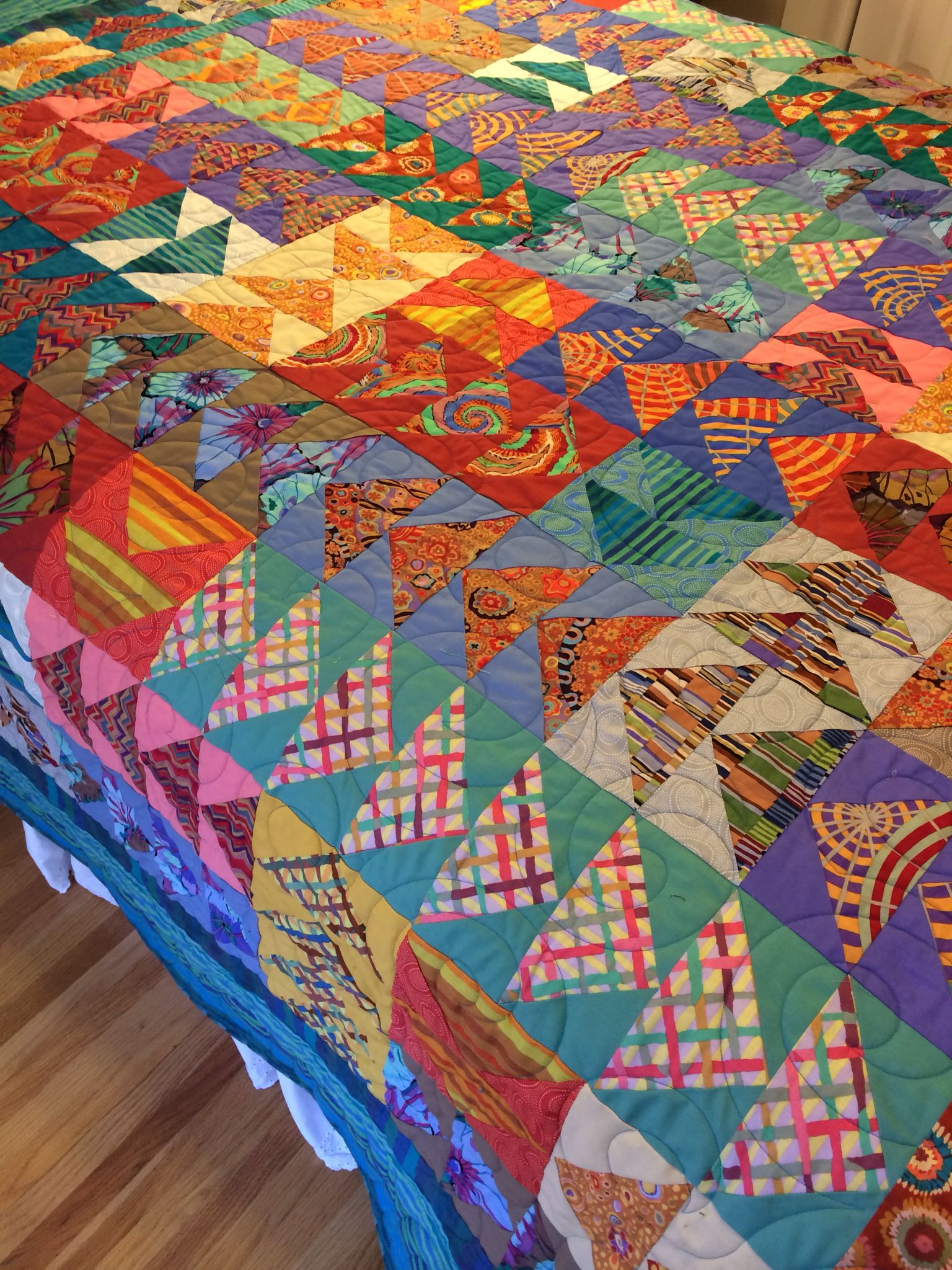 Pin By Quilt Inspiration On Kaffe Fassett Quilts Pinterest