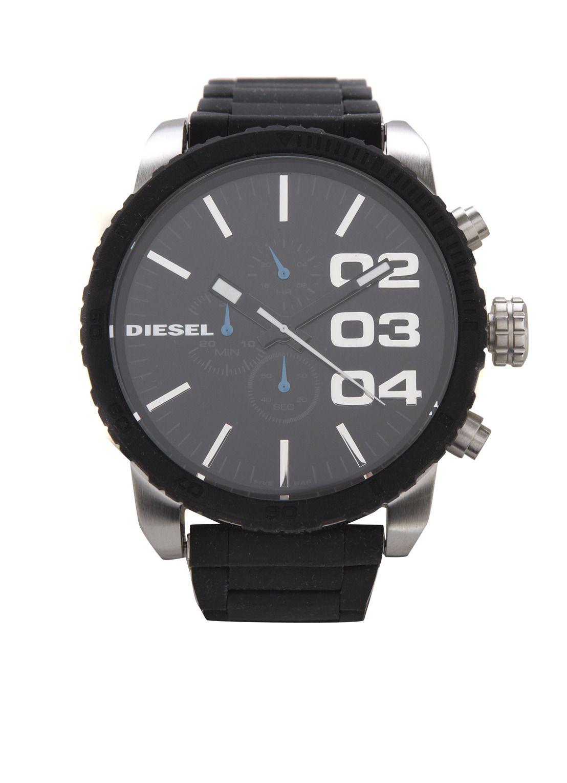 Diesel Herenhorloge met schakelband • de Bijenkorf