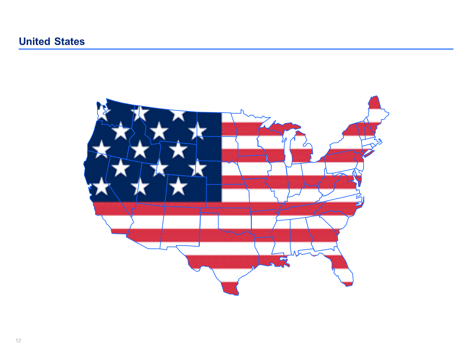 United States Map Ppt.Us Map Templates Editable Us Maps In Powerpoint Slidebooks Com