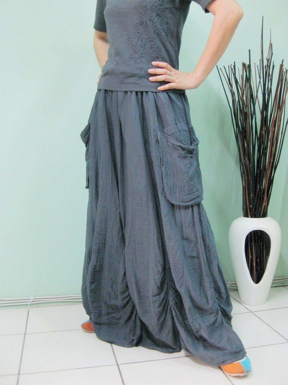 PLUS SIZE SKIRT...Bring Me To The Moon by beyondclothing