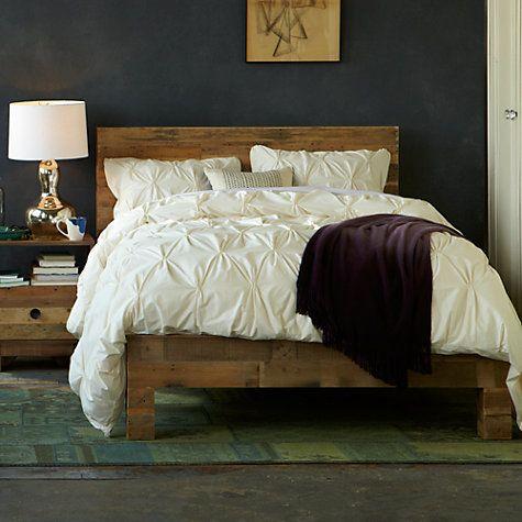 Buy West Elm Emmerson Bed Frame Double Online At Johnlewis