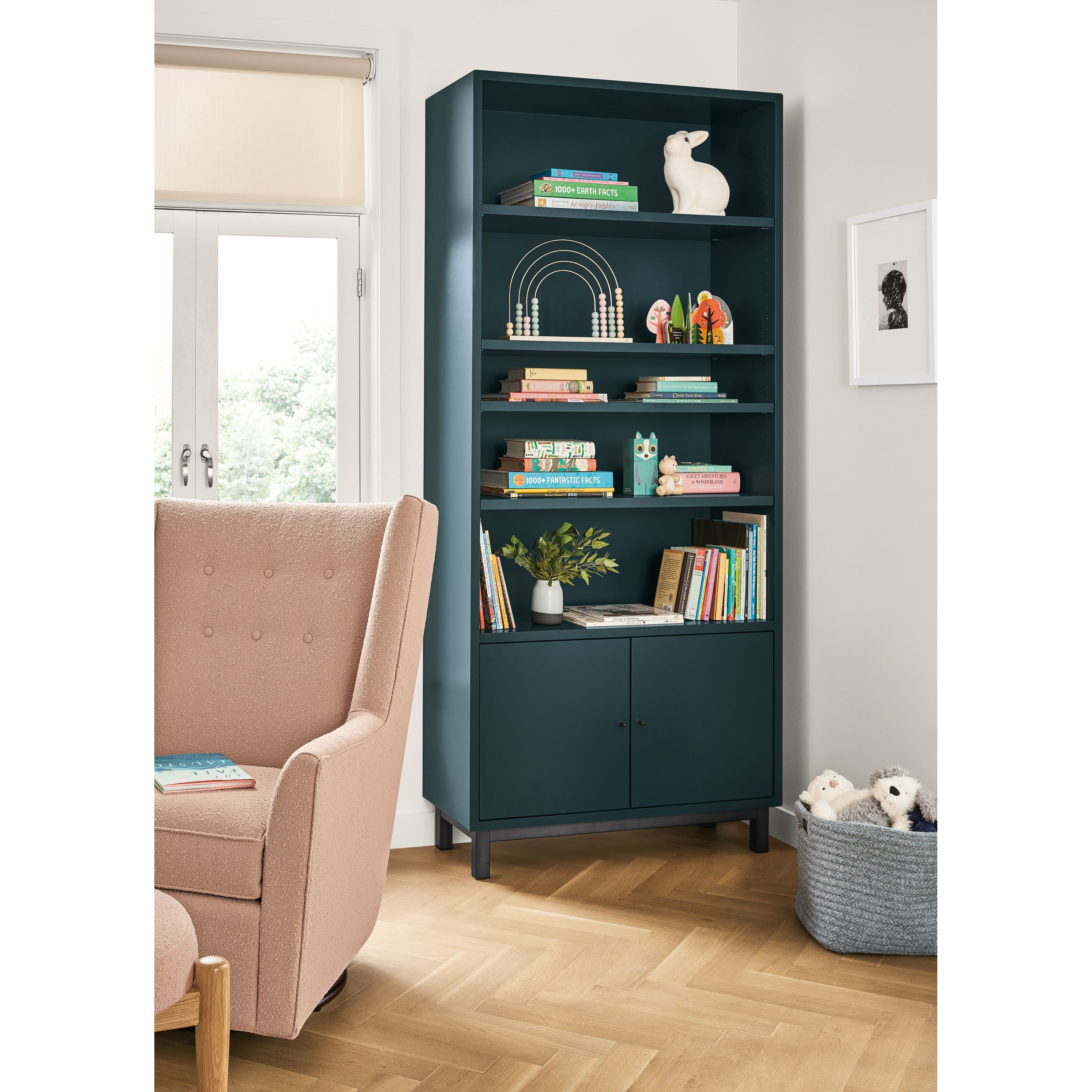 Room Board Copenhagen Bookcases With Doors Drawers In 2020 Ottoman In Living Room Swivel Glider Chair Bookcase