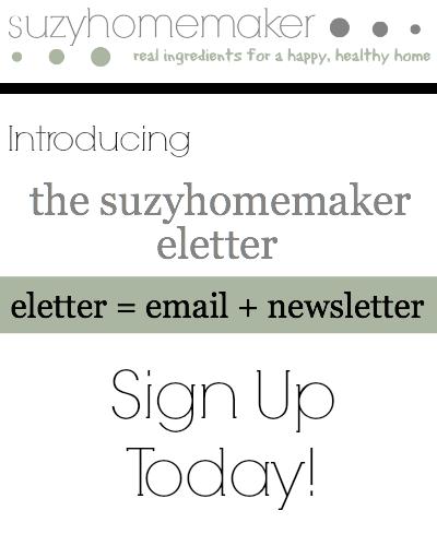 suzyhomemaker eletter | suzyhomemaker.net
