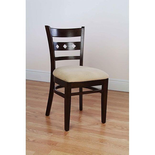 Diamond Back Walnut Side Chairs