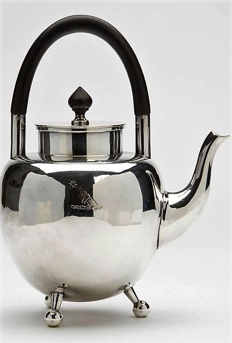 Hukin Heath Christopher Dresser Silver Plated Teapot 1879 467547 Ingantiques Co