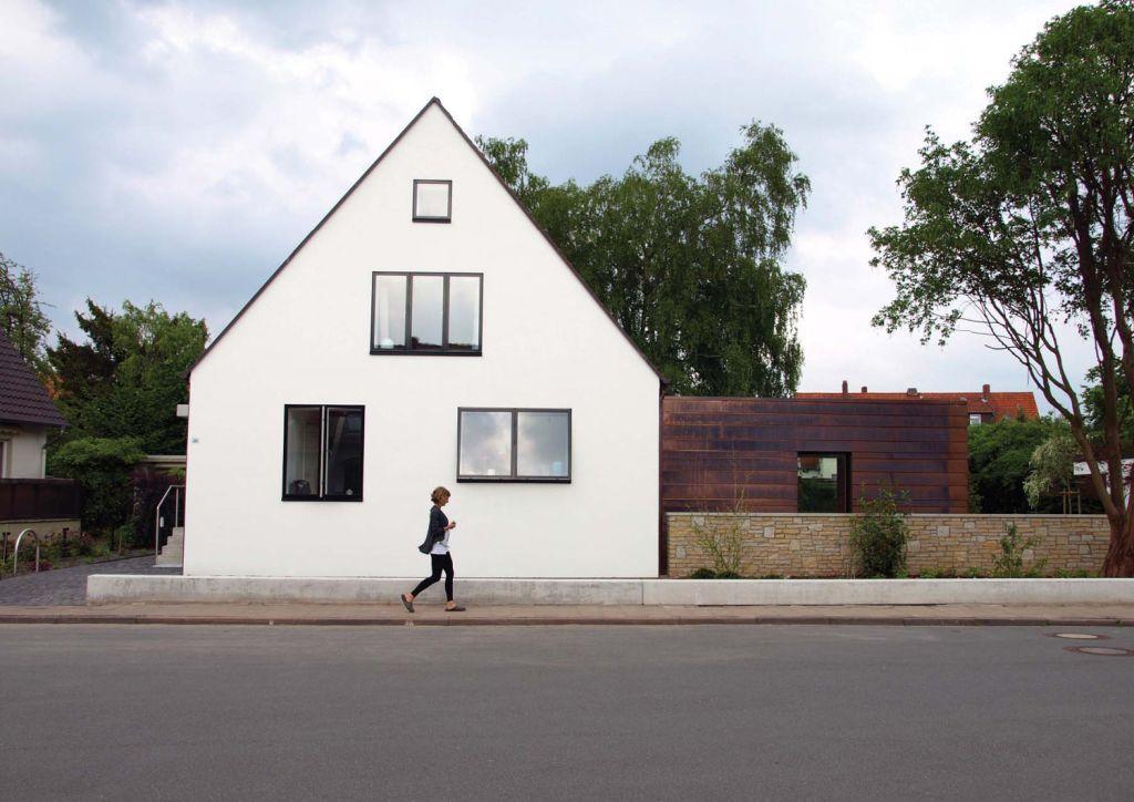 anbau siedlungshaus modern houses pinterest. Black Bedroom Furniture Sets. Home Design Ideas