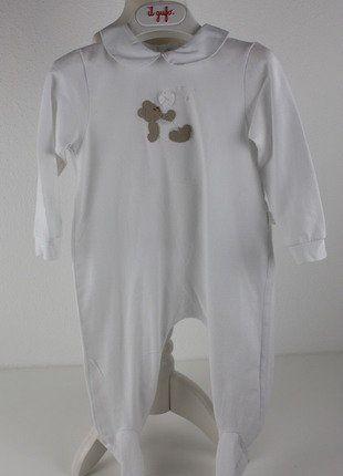 Kaufe meinen Artikel bei #Mamikreisel http://www.mamikreisel.de/kleidung-fur-jungs/strampler/31289997-il-gufo-baby-strampler-schlafanzug-bar-7480-12m-np89eu