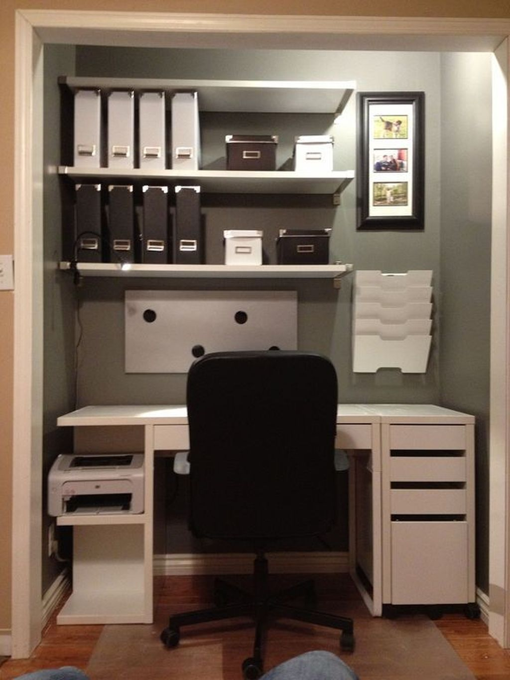 Pin On Home Office Rooms Storage Organizing Diy