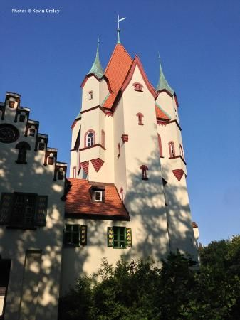 Kaltenberg Castle, where the medieval festival takes place every July