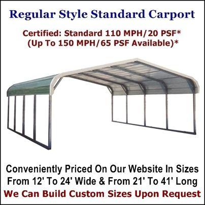 Metal Carports Metal Garages Metal Structures At Metal Carport Depot Metal Carports Carport Metal Carport Kits