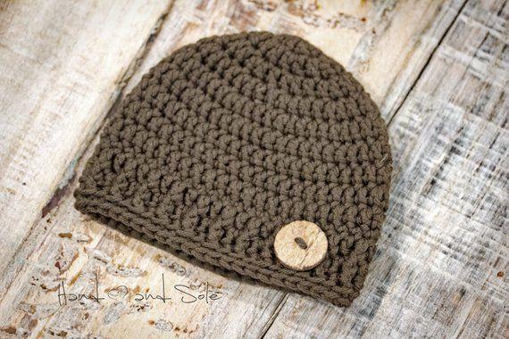 faa75f735d4 Crochet Pattern Baby Boy Crochet Hat Pattern Crochet Hat