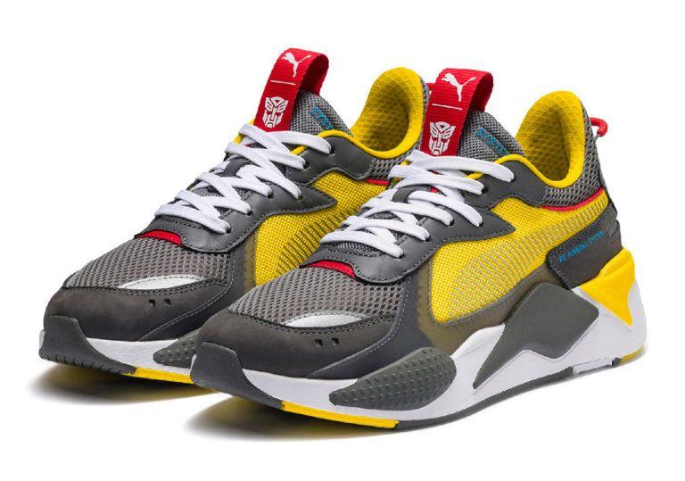 Puma traz novos tênis inspirado no universo dos Transformers