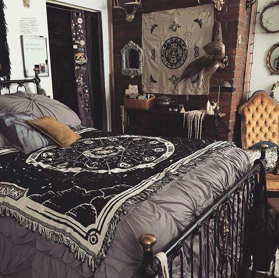 Boho Bedroom Modest Interior Modern Style Ideas Aesthetic Bedroom Bedroom Vintage Modern Bedroom