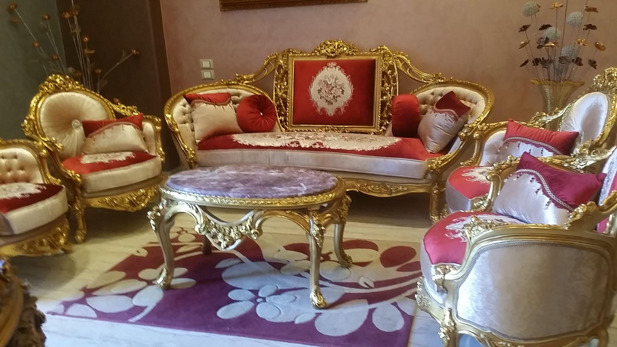 Luxury Sofa, Wood Carving, Cleveland