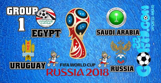 تعرف على مواعيد مباريات المجموعة الاولى فى كأس العالم روسيا 2018 World Cup Russia 2018 Fifa World Cup World Cup