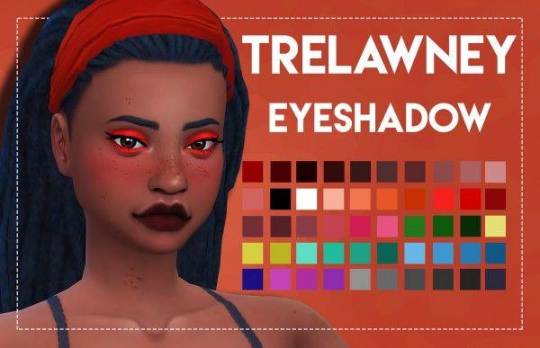 Simsworkshop: Trelawney Eyeshadow by Weepingsimmer • Sims 4 Downloads