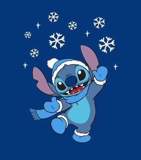 "Disney Lilo & Stitch No Sew Fleece Throw 72"" Winter 