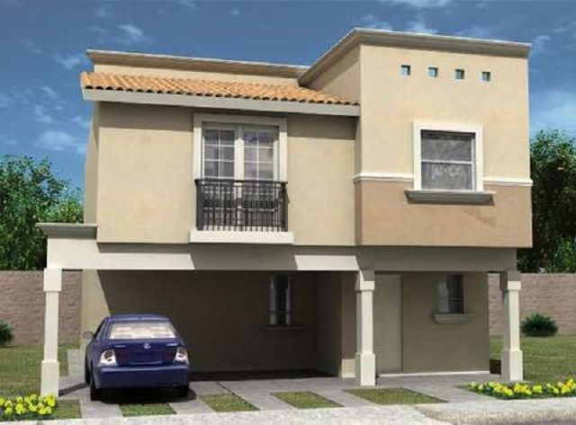 plano de casa de dos pisos | casas | pinterest | planos de casa de