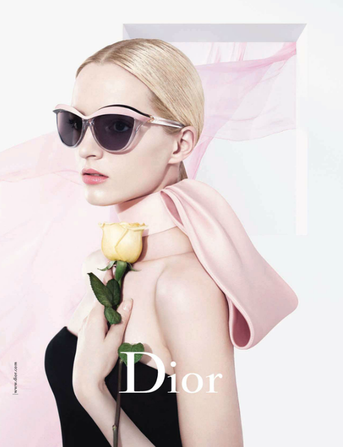 Daria Strokous for Dior Demoiselle Sunglasses Spring/Summer 2013