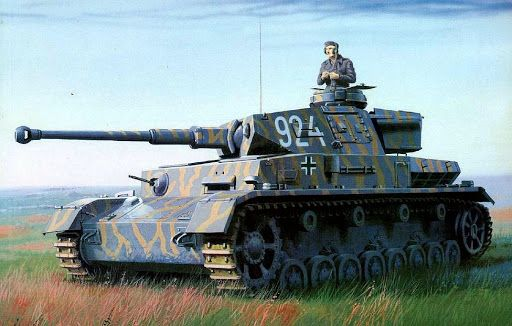 Case Blue Ww2 : A panzer iv in the operation case blue summer war ii