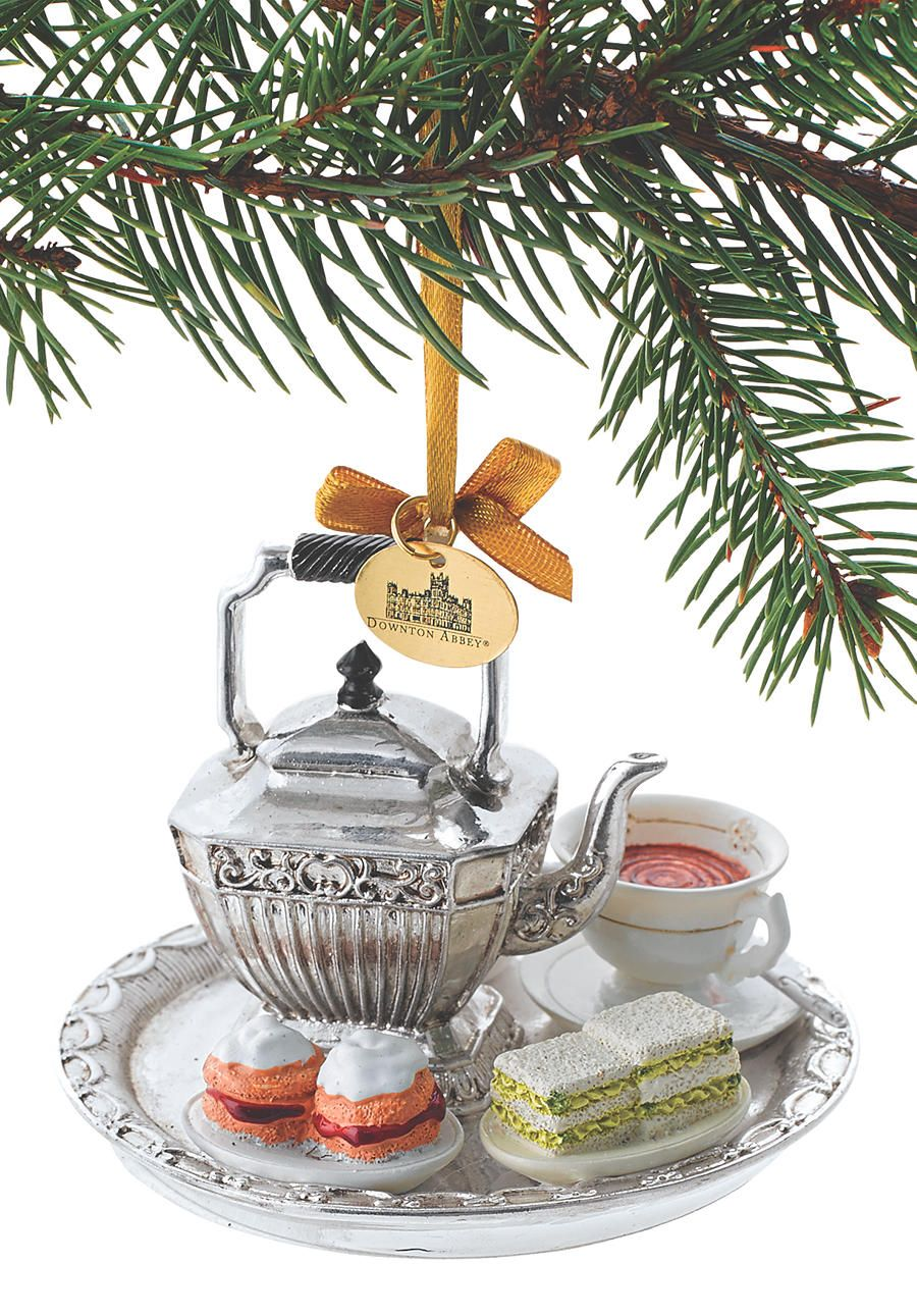 Downton Abbey Tea Set Ornament - Acorn Online | Holidays ...