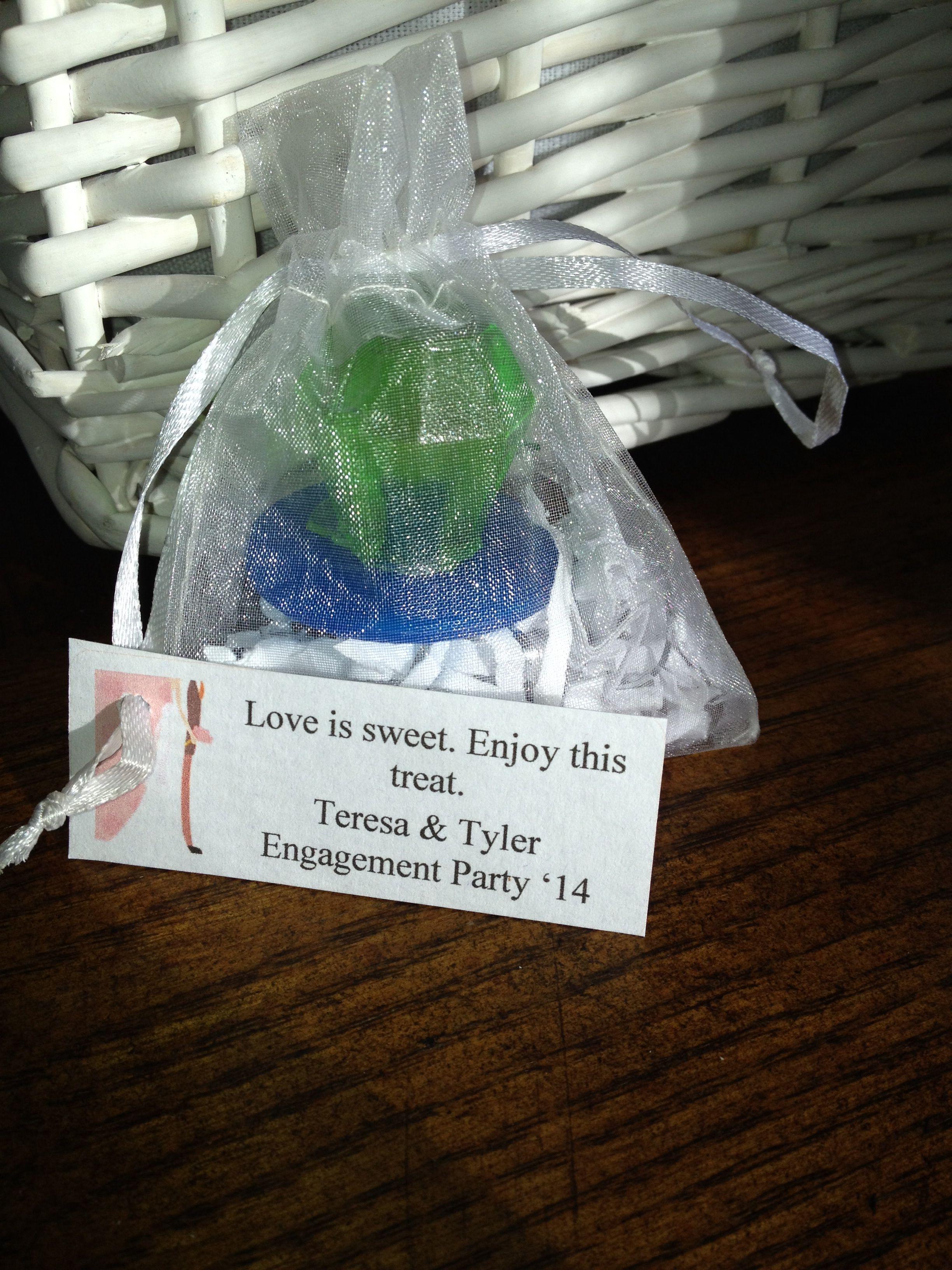 bridal shower favors ring pop engagement party favors