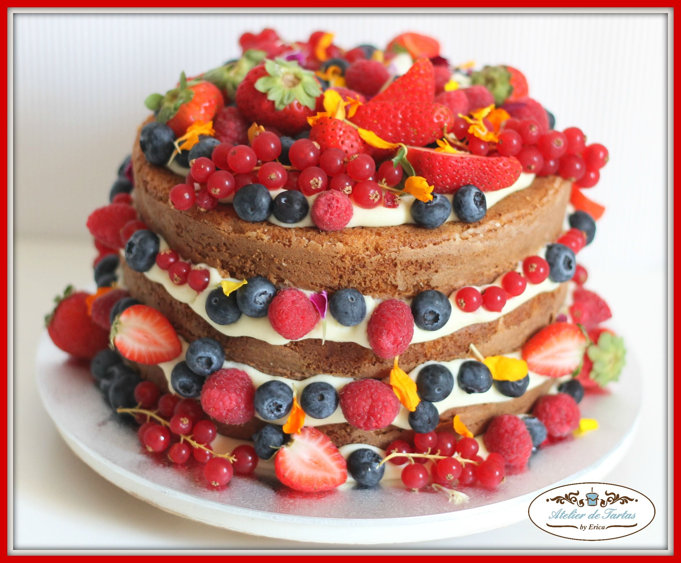 Super Jueves - Naked Cake de Frutos Rojos