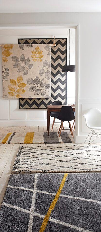 De plus en plus créatifs et stylisés, les tapis ne se cachent plus