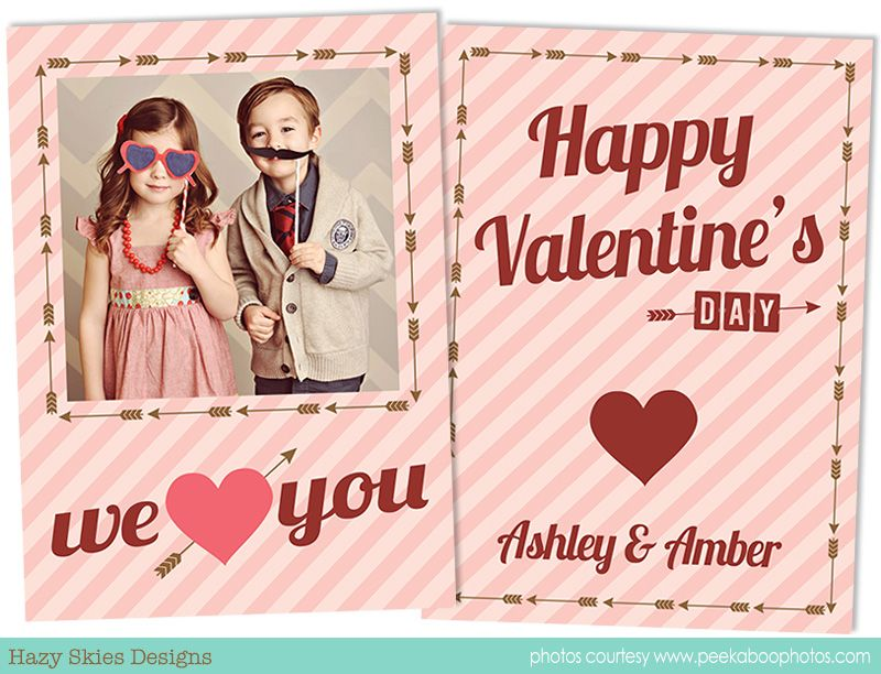 Valentine S Day Card Template Valentines Day Card Templates Valentine Card Template Card Template