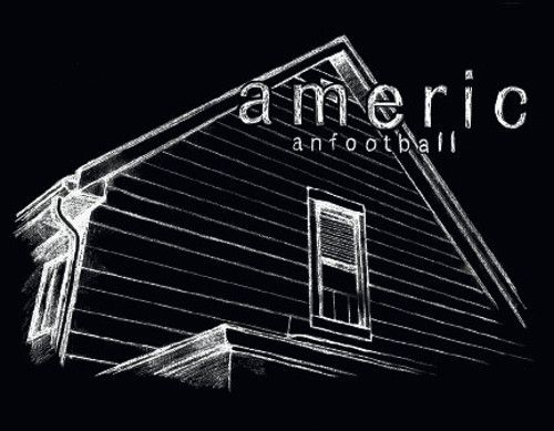 Sticker for American Football on Polyvinyl Record