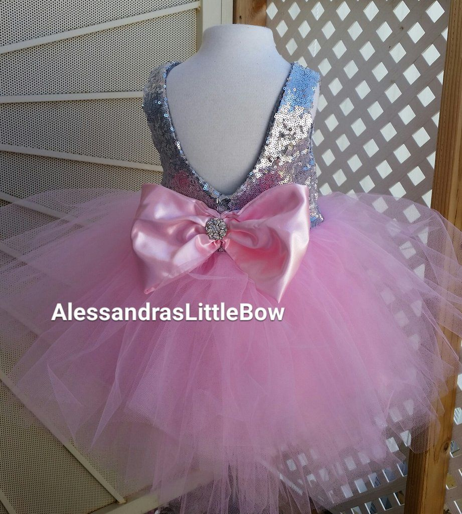 Baby girl pink sequin dress - Explore Pink Tulle Skirt Tulle Skirts And More Pink And Silver Tier Sequin Dress Couture Fancy Pretty Baby Girl