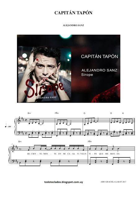 Capitan Tapon Alejandro Sanz Cantantes Espanoles Alejandro