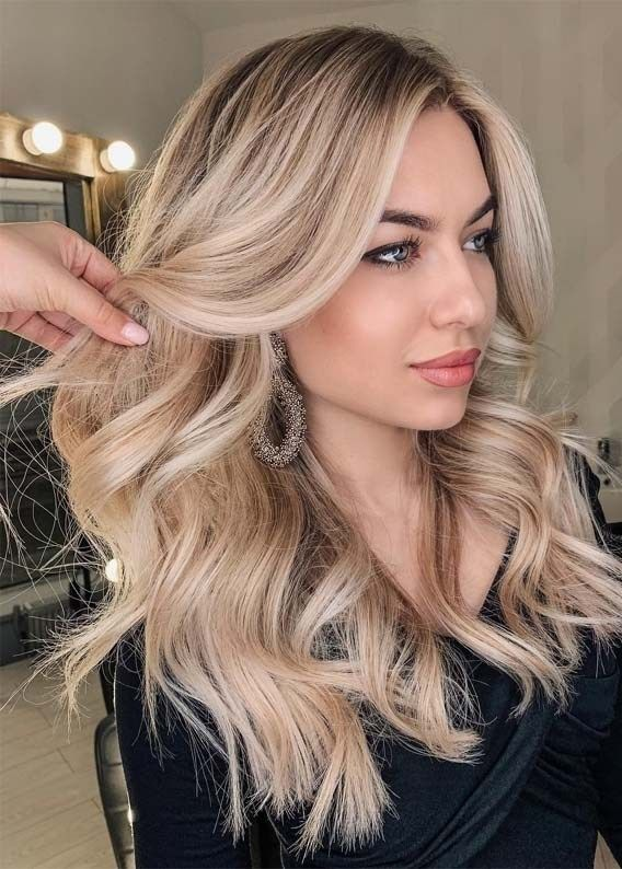 Modern Creamy Blonde Hair Colors Highlights for 2019 #blondehair