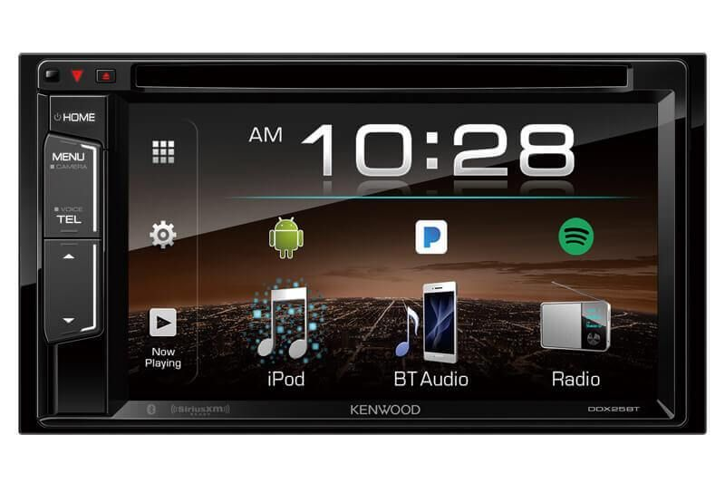 Kenwood DDX25BT 2Din Monitor Receiver with Bluetooth