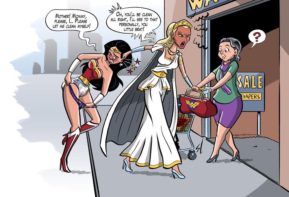 e140c415ea Wonder Woman part 3 by HofBondage on DeviantArt