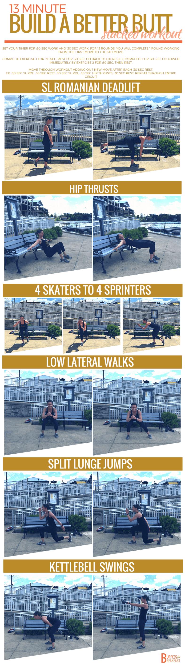 Build a Better Butt | 6 Exercises - 13 Min Workout
