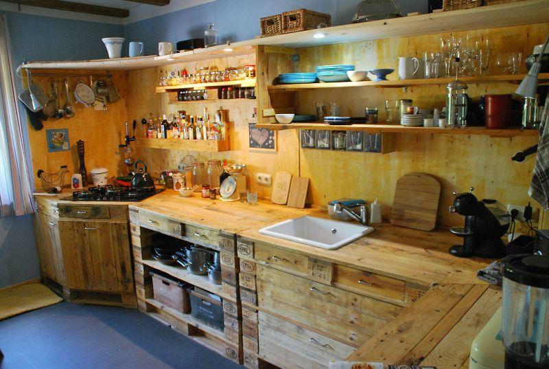 paletten einbauk che projekte mach mal einrichten und wohnen einbauk che k che und. Black Bedroom Furniture Sets. Home Design Ideas