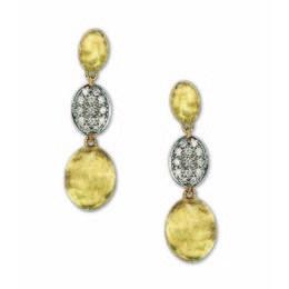 Marco Bicego Diamond Drop Earrings.