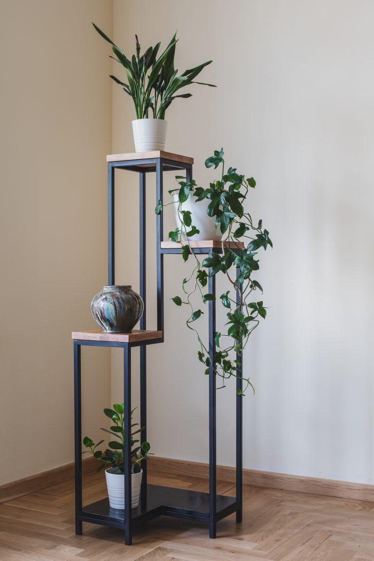 Jan Narozny Kwietnik Stojacy Blat Dab Decor Home Decor Furniture House Plants Decor