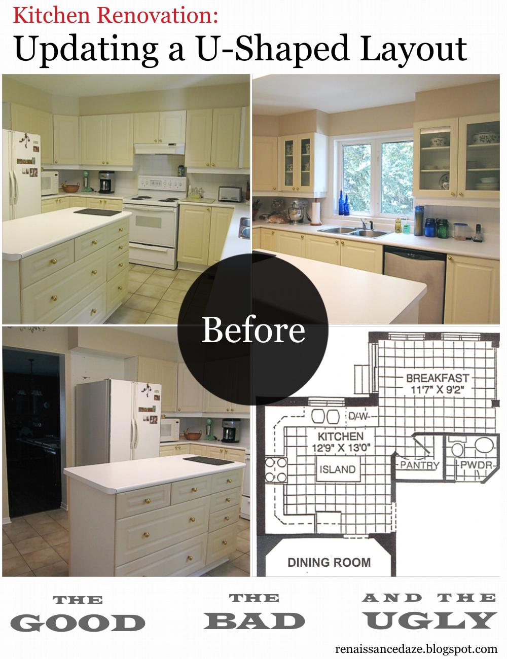 [Blog Post] Kitchen Renovation: Updating A U Shaped Layout. Identifying The  Good, The Bad And The Ugly! #KitchenRenovation