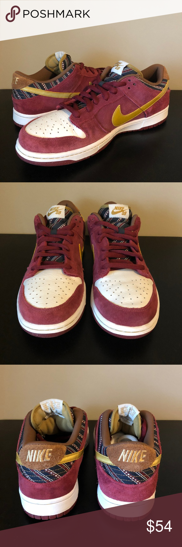 brand new 51e05 ad06b Mens Nike Dunk Low SB Anchorman