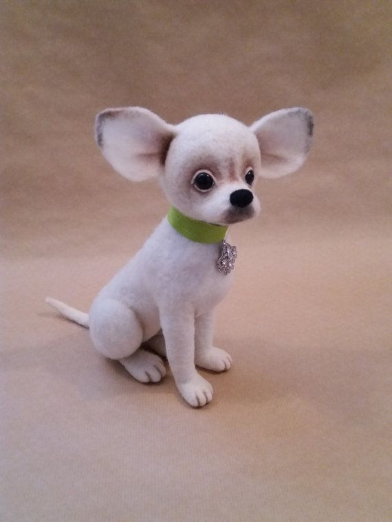 maximus felted chihuahua needle felted dog ooak puppy. Black Bedroom Furniture Sets. Home Design Ideas